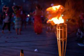 Torche bambou